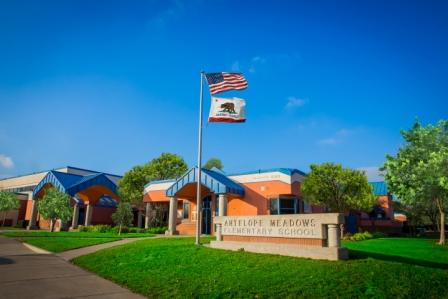 antelope meadows front of school